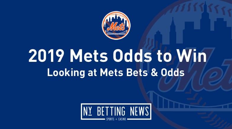 2019 mets odds to win