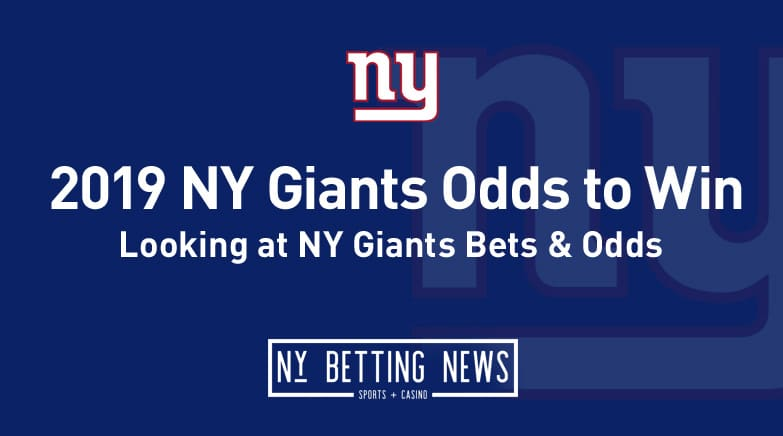 2019 NY Giants Odds to Win