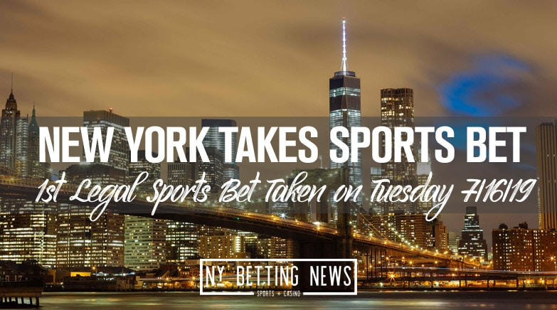 ny takes first legal sports bet